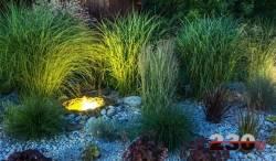 230 Volt Gartenbeleuchtung