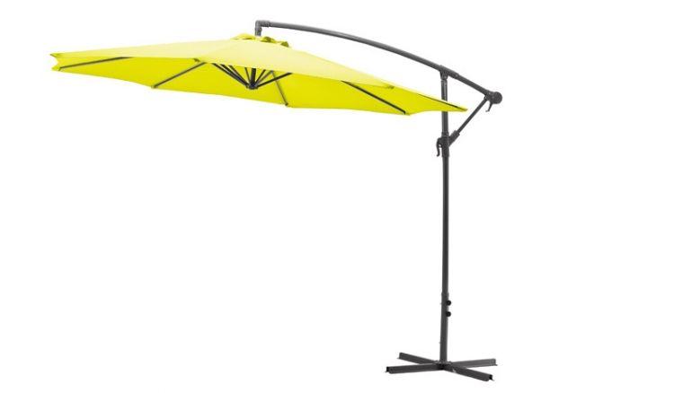 Der 300 cm Ampelschirm Nizza bietet Ihnen einen großen Sonnenschutz für Terrasse oder Balkon