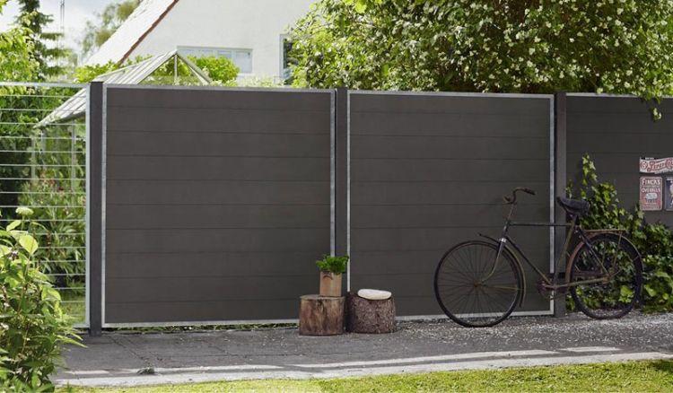 Der WPC Sichtschutz Futura besteht aus individuellen gestaltbaren Steckelementen, die Sie miteinander alle auf verschiedener Art und Weise kombinieren können.