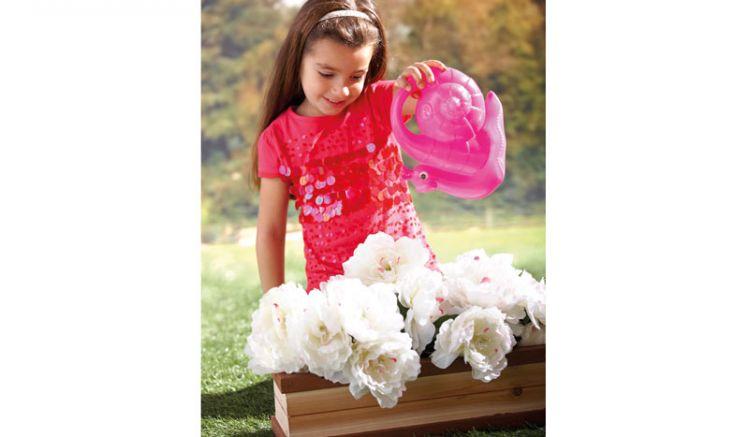Der Blumenkasten für Kinder ist das perfekte Accessoire für Ihr Kinderhaus im Garten. Maße: 18 x 53 x13 cm; Kunststoff
