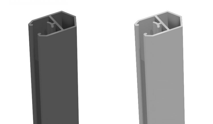 Die BPC Abschlussprofile von meingartenversand.de sind aus Aluminium gefertigt und in den Farben Anthrazitgrau und Silbergrau erhältlich. Die Länge beträgt 180 cm.