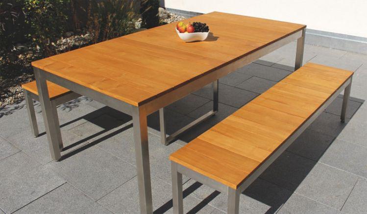 Welche Tischvariante Sie auch wählen, das Edelstahl Gartenmöbel Set wird Ihnen durch seine hochwertige Verarbeitung lange Freude bereiten!