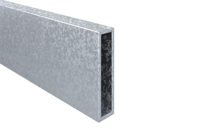 Robuster 8 x 2 x 240 cm Stahlkern-Einschub für Alupfosten Eno