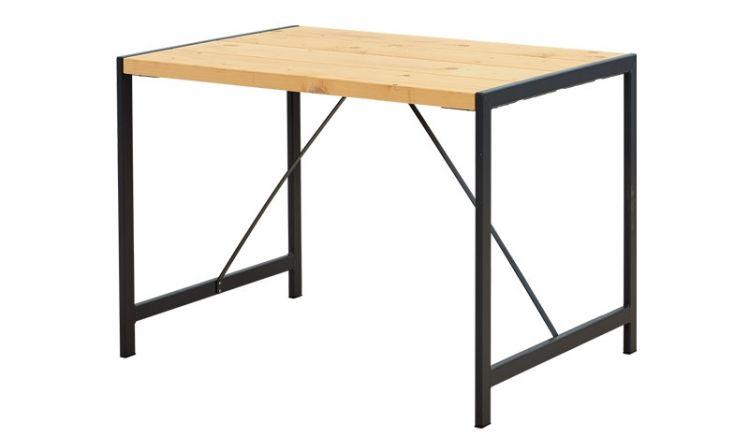 103 x 74 x 73 cm Funkis Gartentisch aus unbehandeltem Leimholz – der praktische Multitisch im skandinavischen Design