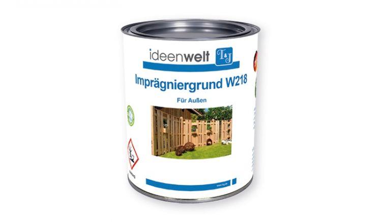 W218 ist ein transparenter, wasserabweisender, offenporiger und UV-beständiger Imprägniergrund für Hölzer im Außenbereich