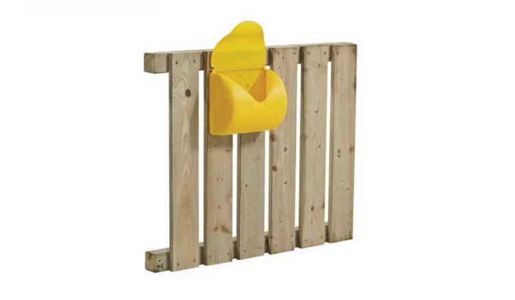 Der Kinder Briefkasten ist das perfekte Accessoire für Ihr Kinderhaus im Garten