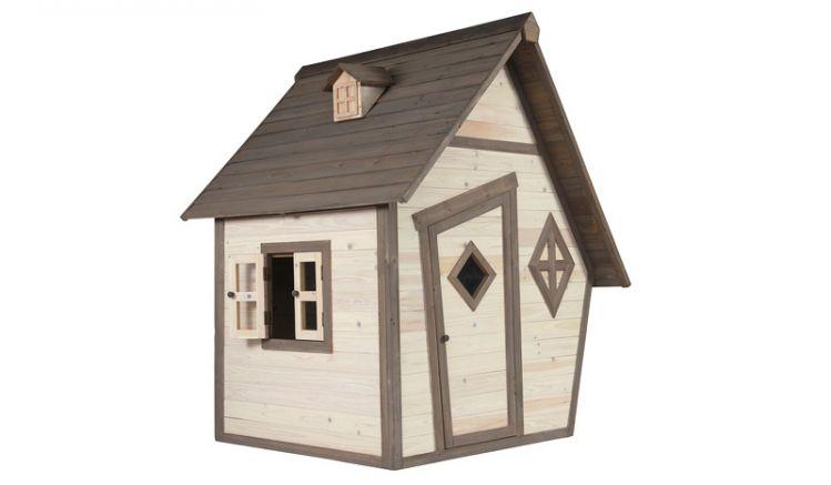Kompaktes Kinder Gartenhäuschen, 102 x 94 x 159cm, TÜV-geprüft, aus 100 % FSC Holz, das Ihren Kindern Spielspass garantiert.