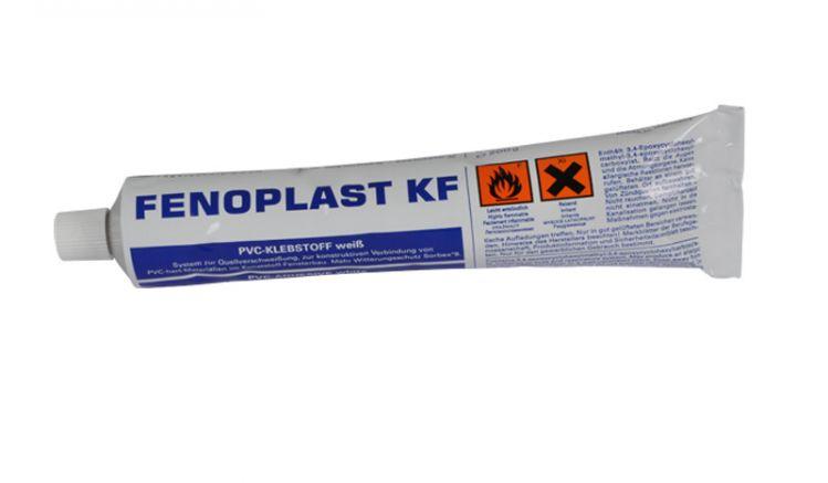 Der Kunststoff Kontaktkleber sollte im Freien verwendet werden, da die Dämpfe gesundheitsgefährdend sind. Der Inhalt der Tube sind 200 ml.