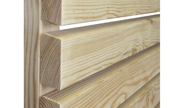Die Rhombuslatten aus Lärche eignen sich mit Maßen von 2,8 x 6,8 x 300 cm ideal um z.B. selbst Sichtschutzzäune zu gestalten.