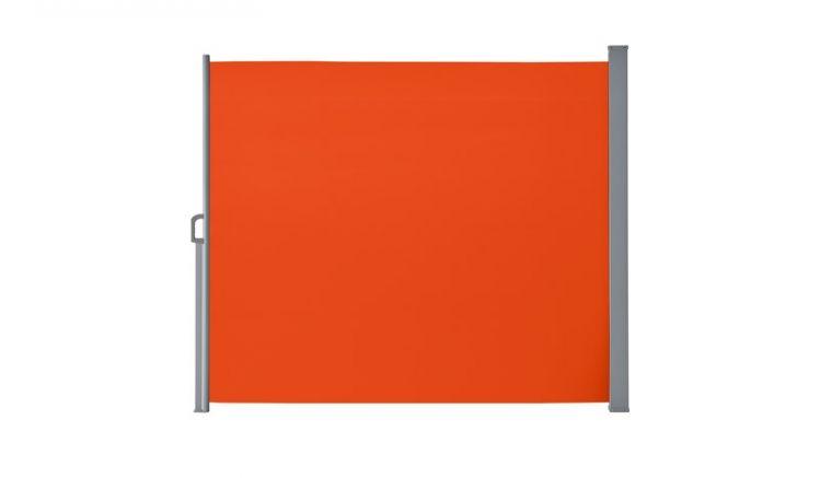 Ausziehbar bis 300 cm: Die Terrassenmarkise Porto in der Farbe Terracotta