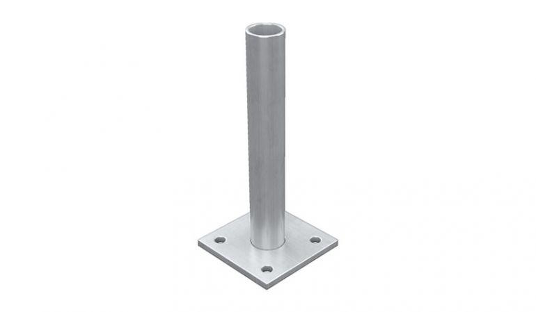 Pfostenträger aus verzinktem und pulverbeschichtetem Stahl - 8,7 x 8,7 x 19,4 cm