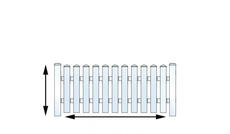 Konfigurieren Sie Ihren persönlichen Kunststoffgartenzaun auf meingartenversand.de