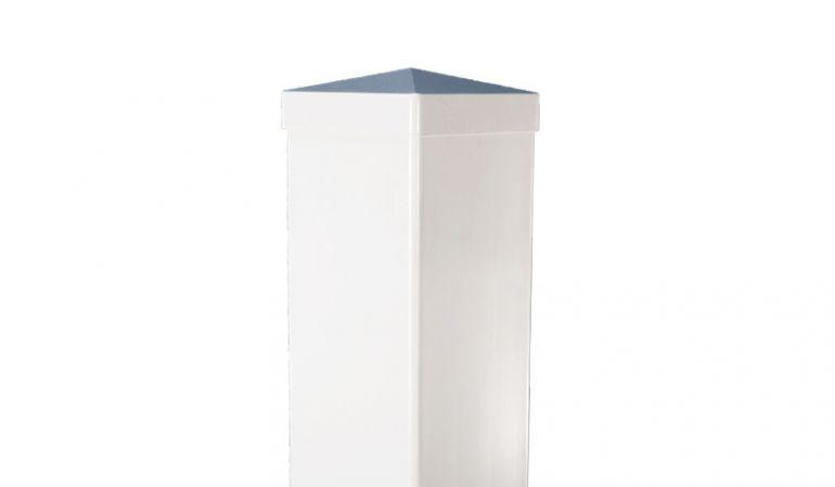 Kunststoffpfosten für Sichtschutz- und Gartenzäune