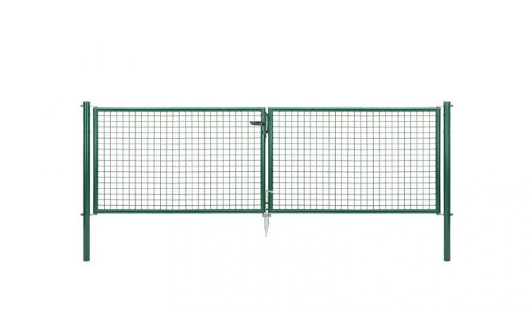 Unser Maschendrahtzaun Tor ist in den Höhen 100 cm, 125 cm, 150 cm, 175 cm und 200 cm erhältlich