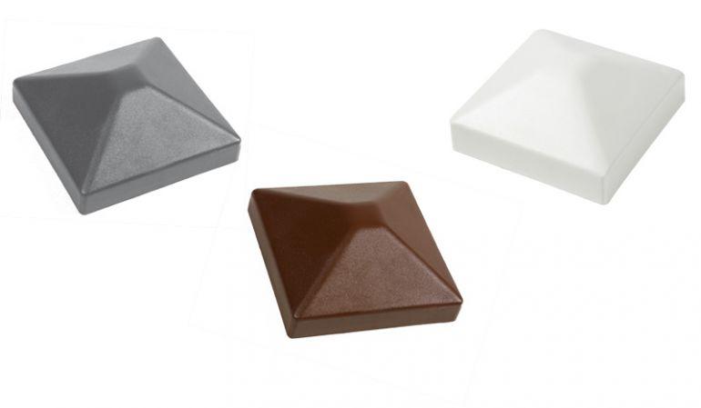 Pfostenkappen Kunststoff - erhältlich in den Maßen: 7 x 7 und 9 x 9 cm. Bestellen Sie jetzt auf meingartenversand.de