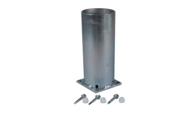 8,7 x 8,7 cm Pfostenkonsole aus verzinktem Stahl