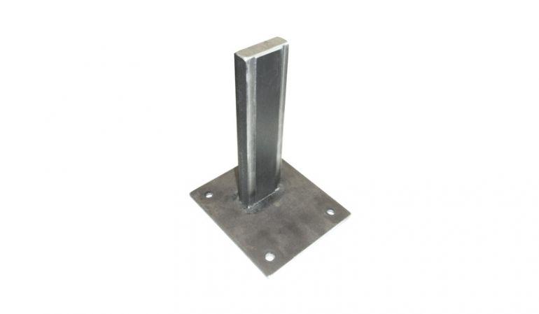 15 x 15 x 23 cm Pfostenträger Trent aus pulverbeschichtetem Stahl, zum Aufschrauben mit Schwerlastdübeln