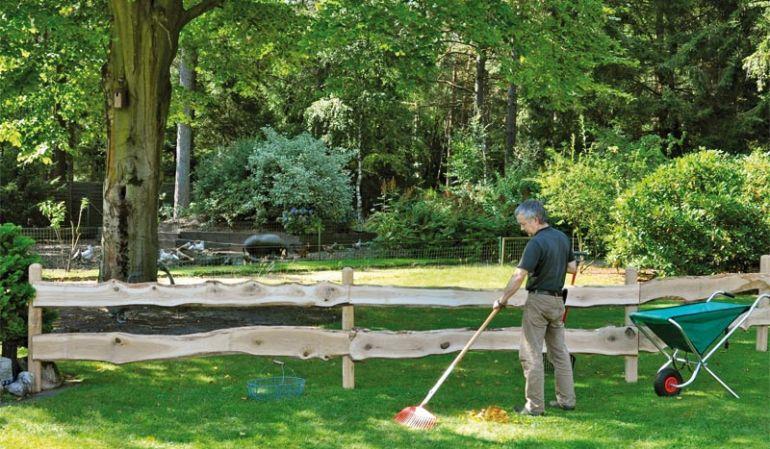 Rancherzaun Bretter aus Eiche mit einer Länge von 240 cm jetzt direkt bestellen