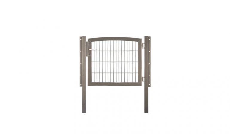 Stabmatten Gartentor mit einer einer Breite von 100 cm, feuerverzinkt oder pulverbeschichtet erhältlich