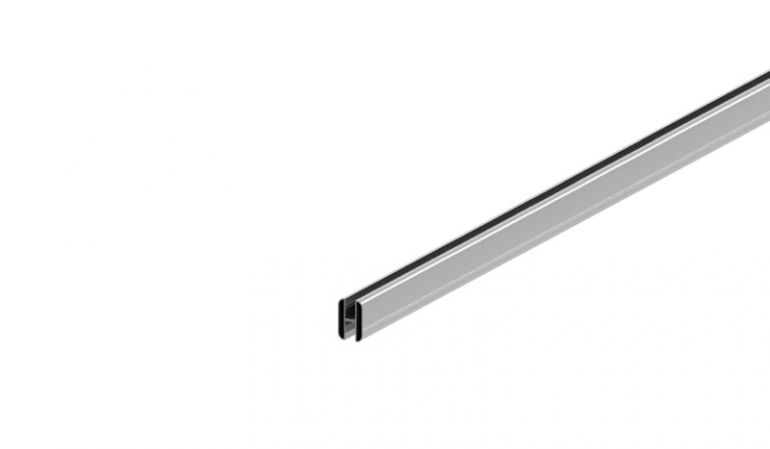 Robuste H-Profile aus rostfreiem Aluminium zum Verbinden einzelner Steckzaunlamellen in 2 Farben erhältlich.