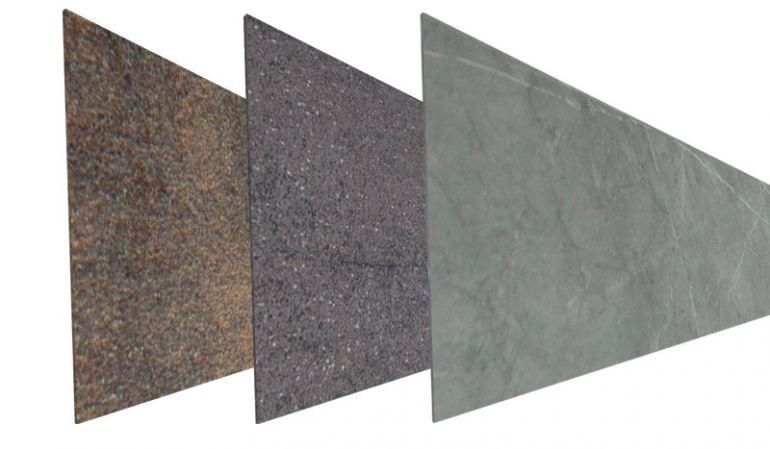 Robuste Stein Sichtschutz Lamellen aus bruchfestem Keramik gefertigt in 3 verschiedenen Dekoren erhältlich